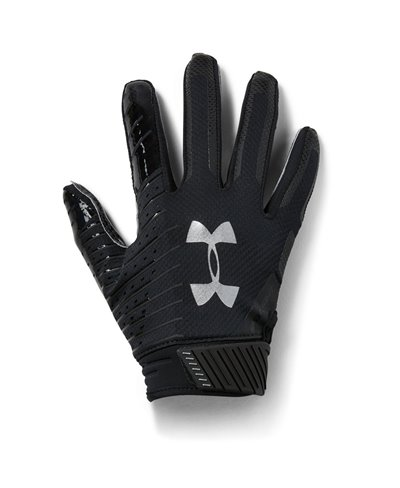 Spotlight Herren American Football Handschuhe Black 001