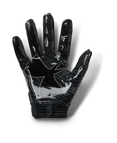 Spotlight Herren American Football Handschuhe Black 001