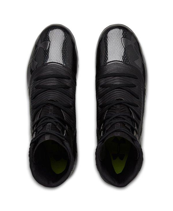 Highlight MC Zapatos de Fútbol Americano para Hombre Black