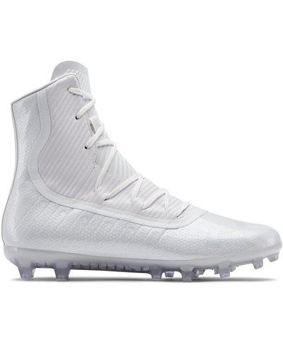 Highlight MC Zapatos de Fútbol Americano para Hombre White 101