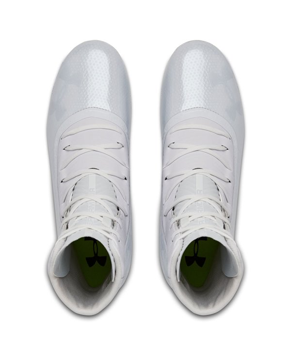 Men's Highlight MC American Football Cleats White 101