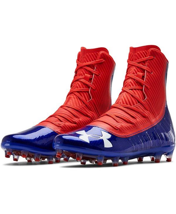 Highlight MC Zapatos de Fútbol Americano para Hombre Team Royal