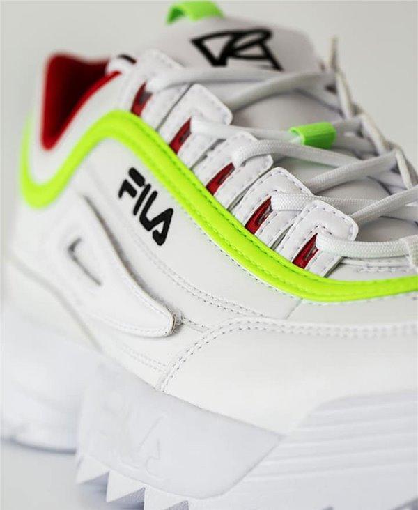 Women's Disruptor II x Roy Wang Sneakers Shoes White