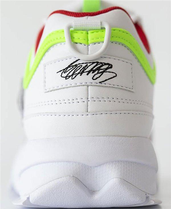 Damen Sneakers Disruptor II x Roy Wang Schuhe White
