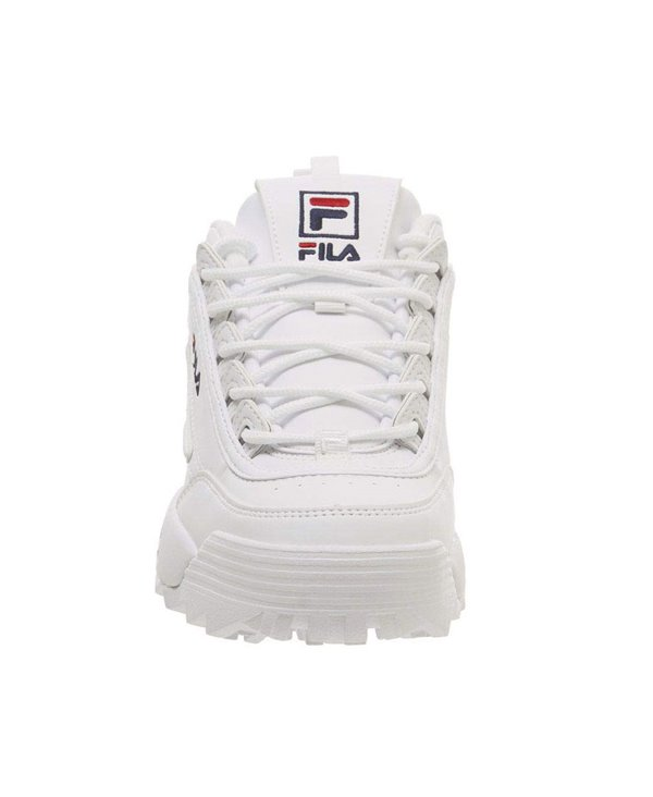 Disruptor II Letter Zapatos Sneakers para Mujer White