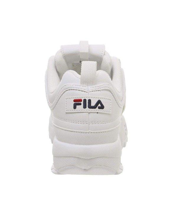 Damen Sneakers Disruptor II Letter Schuhe White
