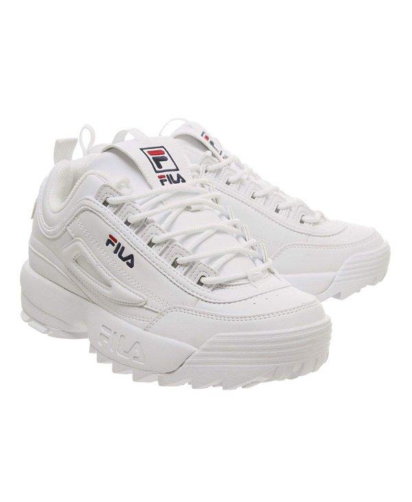 size 40 1e1a9 4a6a0 Disruptor II Letter Scarpe Sneakers Donna White