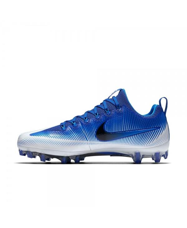 f883ee342d7 Nike Men s Vapor Untouchable Pro American Football Cleats Blue White