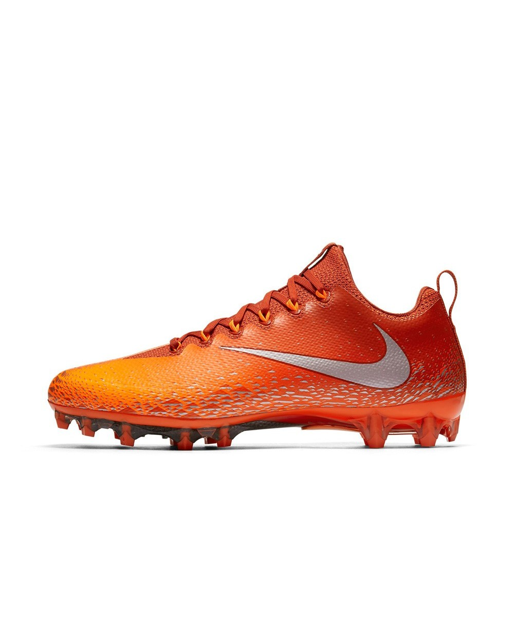 39fca5ddda9e Nike Men's Vapor Untouchable Pro American Football Cleats Orange