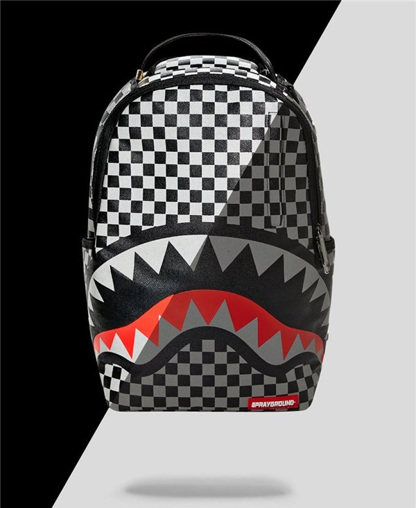 Reflective Sharks in Paris Backpack