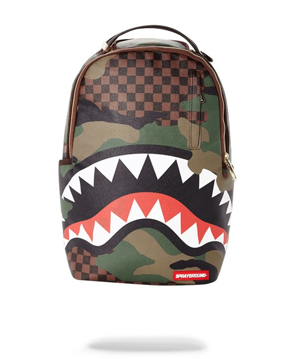 Sharks in Paris Backpack Camo Edition