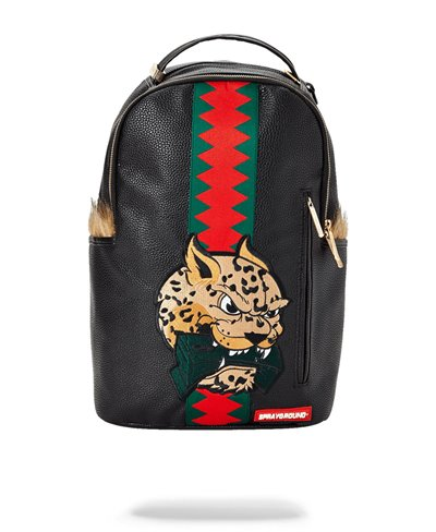 Leopard Fur Money Backpack