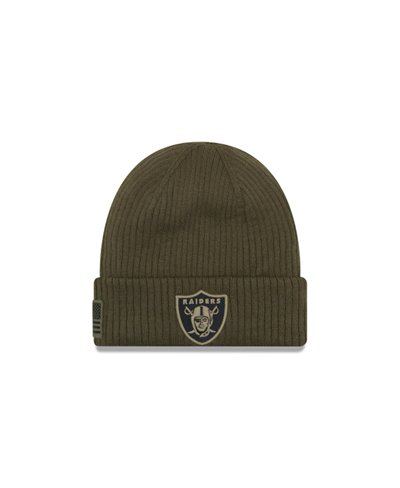 Men's Beanie NFL Salute To Service Oakland Raiders