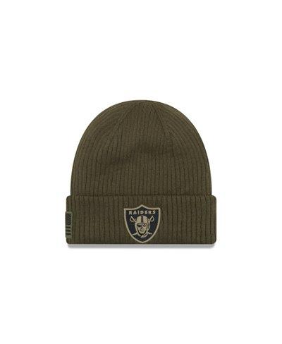 NFL Salute To Service Gorro para Hombre Oakland Raiders
