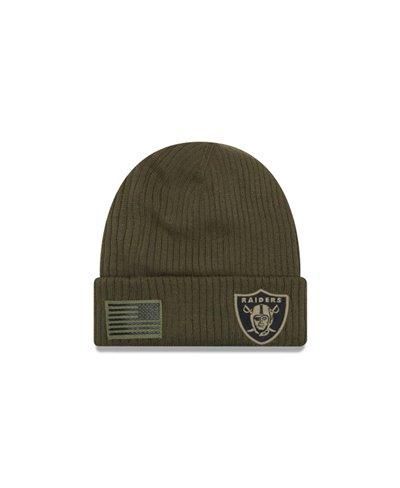 NFL Salute To Service Berretto Uomo Oakland Raiders