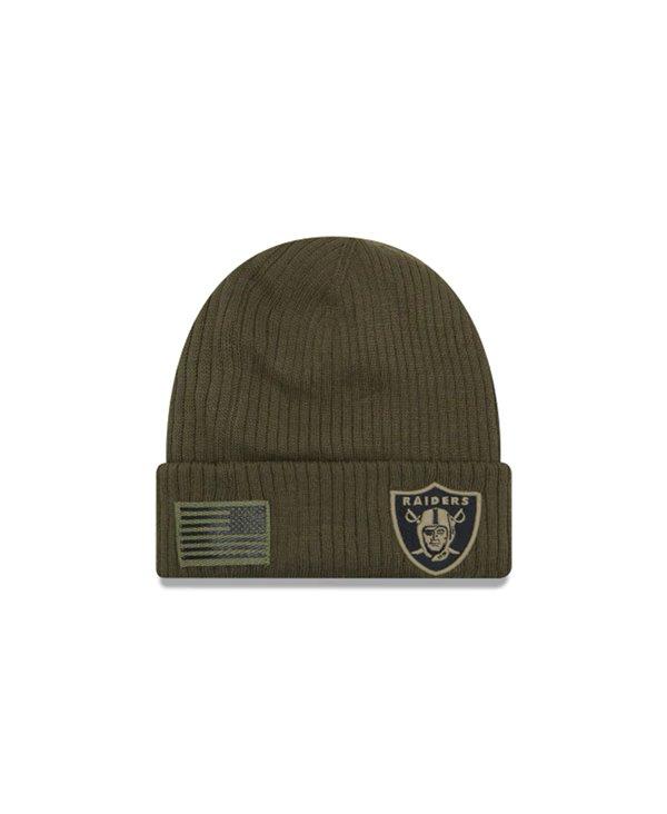 Herren Mützen NFL Salute To Service Oakland Raiders