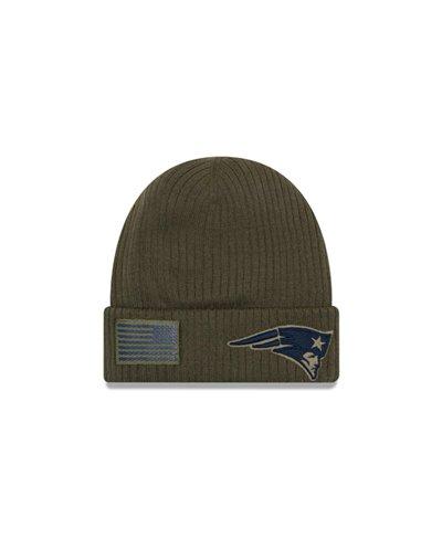 NFL Salute To Service Bonnet Homme New England Patriots