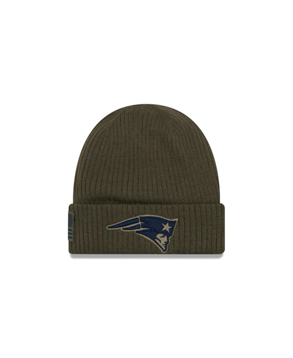 Men's Beanie NFL Salute To Service New England Patriots