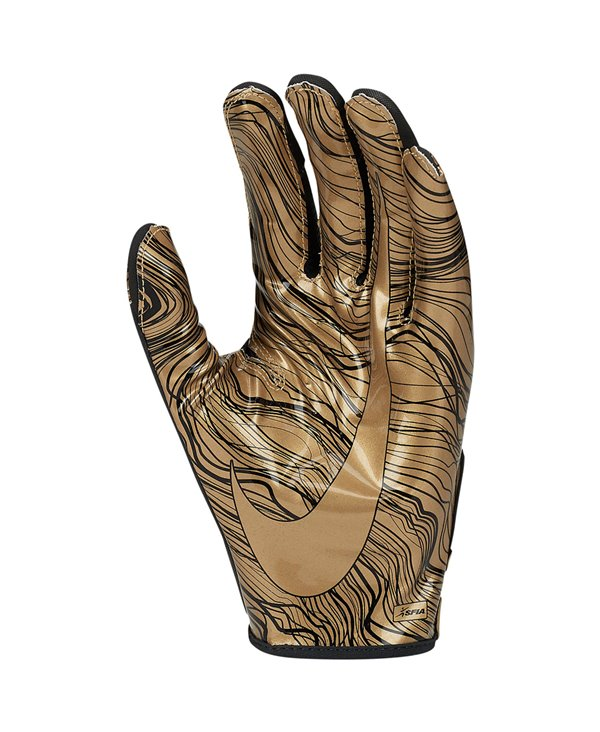 Vapor Jet 5 Herren American Football Handschuhe Black/Gold