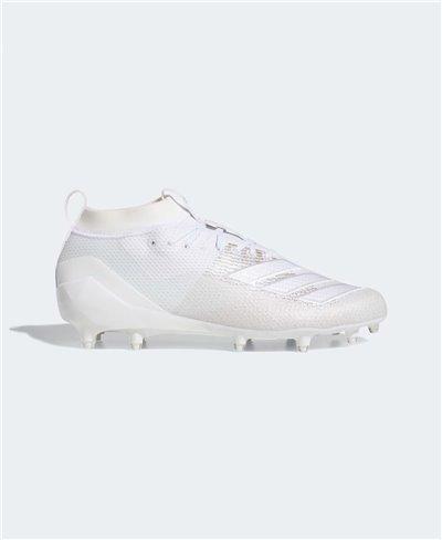 Adizero 8.0 Zapatos de Fútbol Americano para Hombre Cloud White