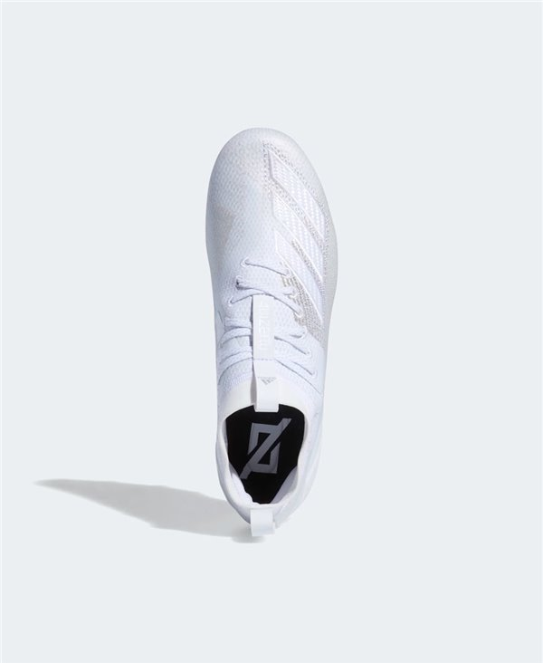 Men's Adizero 8.0 American Football Cleats Cloud White