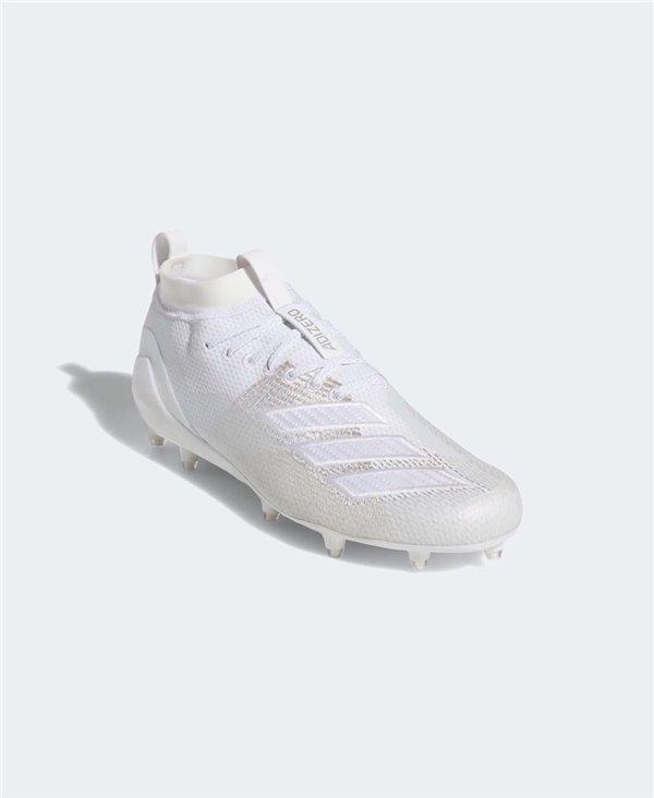 Adidas Adizero 8.0 Scarpe da Football Americano Uomo Cloud White