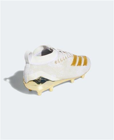 Adizero 8.0 Scarpe da Football Americano Uomo Cloud White/Gold Metallic
