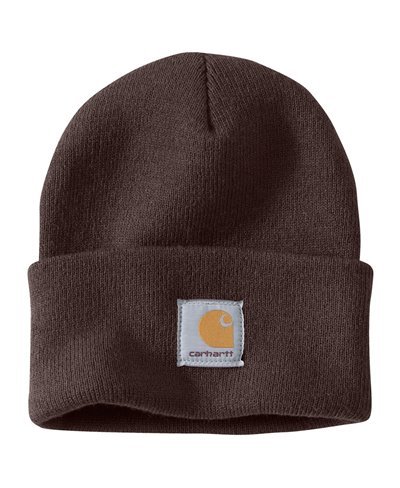 Work in Progress Acrylic Watch Gorro para Hombre Dark Brown