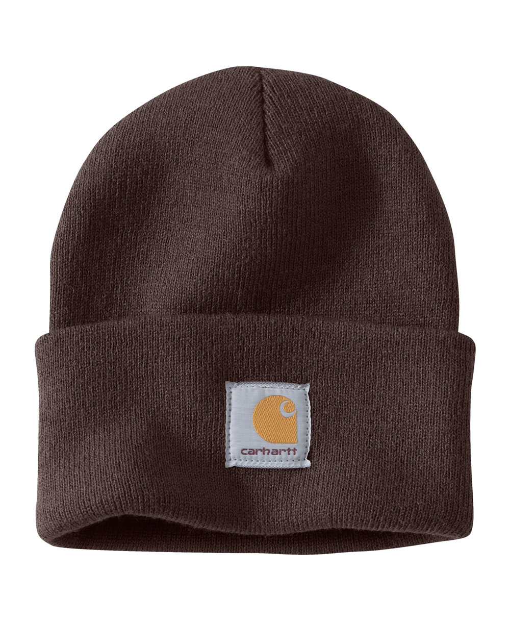Men's Beanie Work in Progress Acrylic Watch Dark Brown