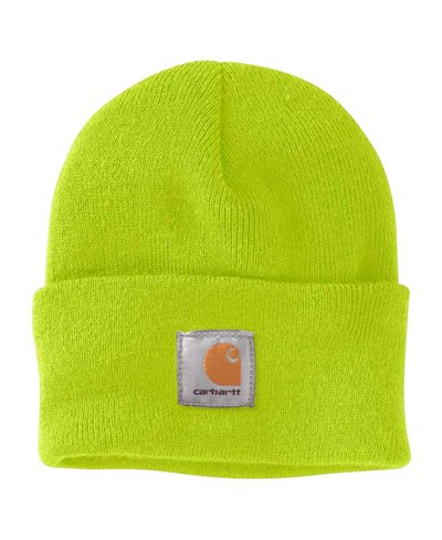 Men's Beanie Work in Progress Acrylic Watch Brite Lime