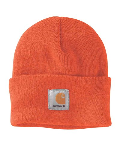 Men's Beanie Work in Progress Acrylic Watch Brite Orange