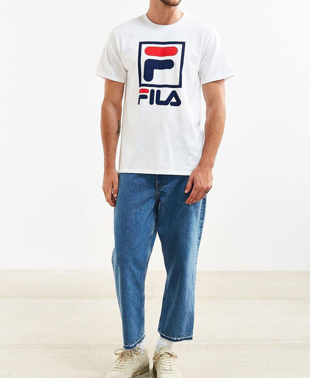 Stacked Camiseta para Hombre White