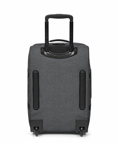 Valise Tranverz S avec 4 Roues Black Denim Serrure TSA