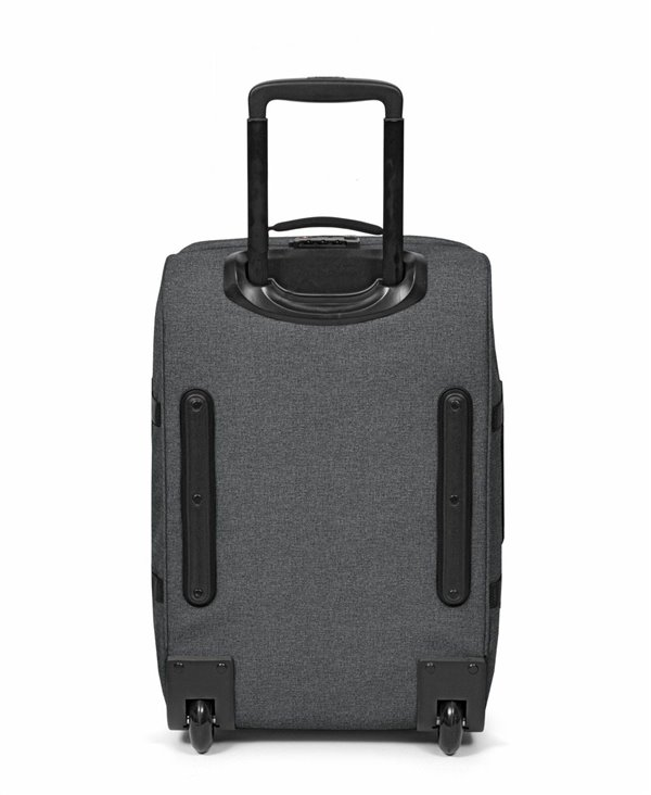 Tranverz S Suitcase 4 Wheels Black Denim TSA Lock