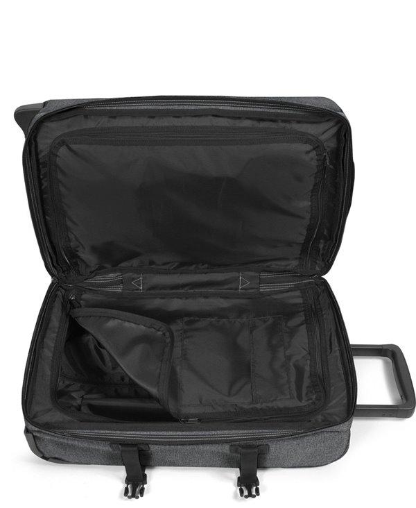 Valigia Tranverz S 4 Ruote Black Denim con Lucchetto TSA