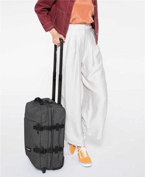 Tranverz S Suitcase 4 Wheels Black Denim TSA Lock