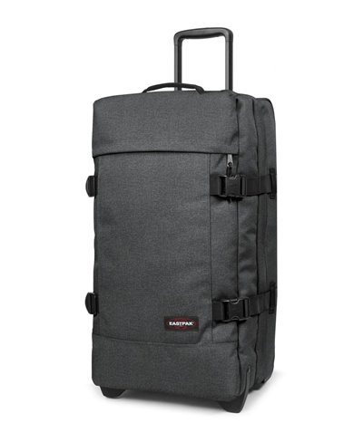 Tranverz M Suitcase 4 Wheels Black Denim TSA Lock