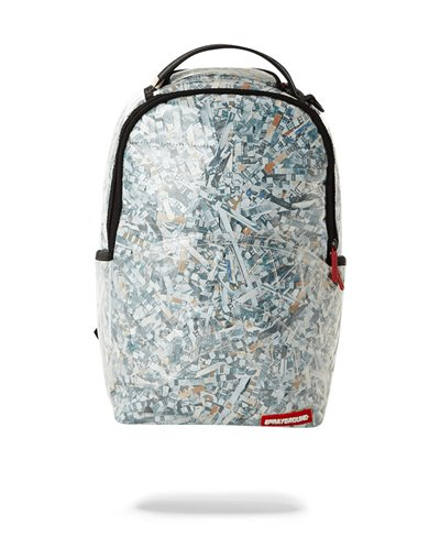 Counterfeit (Vinyl Shredded Money) Backpack