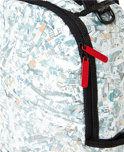 Sac à Dos Counterfeit (Vinyl Shredded Money)