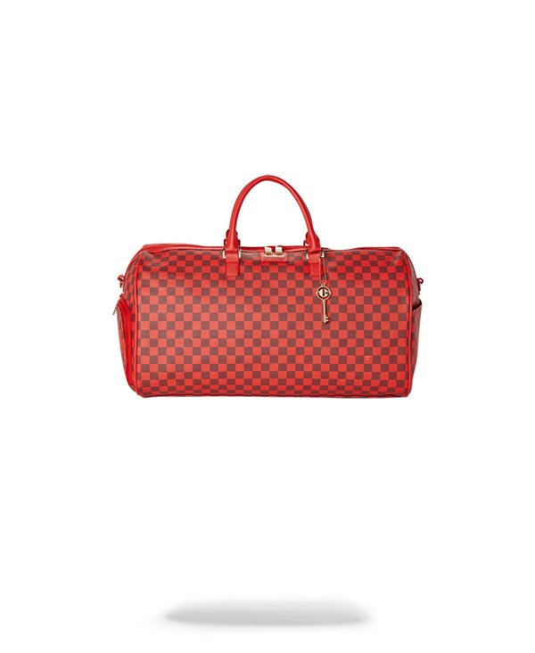 Sac de Voyage Sharks in Paris Red Checkered Edition