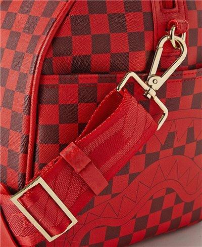 Bolsa de Viaje Sharks in Paris Red Checkered Edition