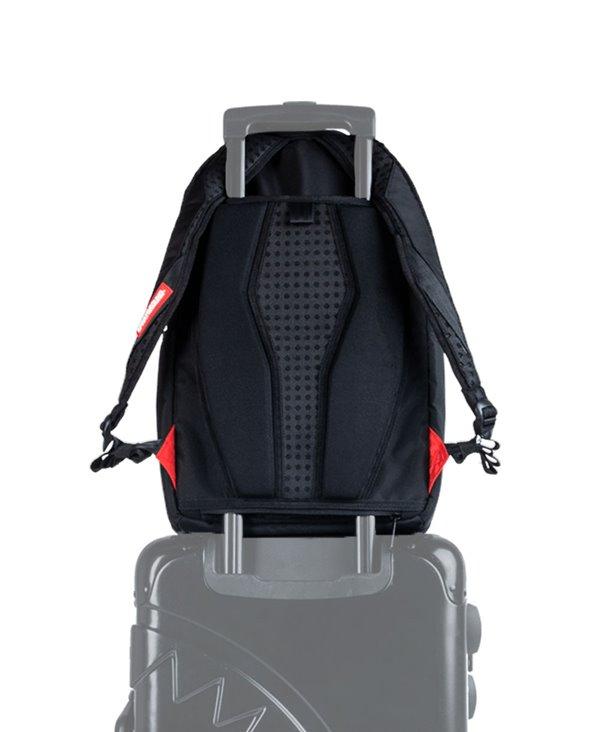 Double Cargo Side Shark Backpack Camo