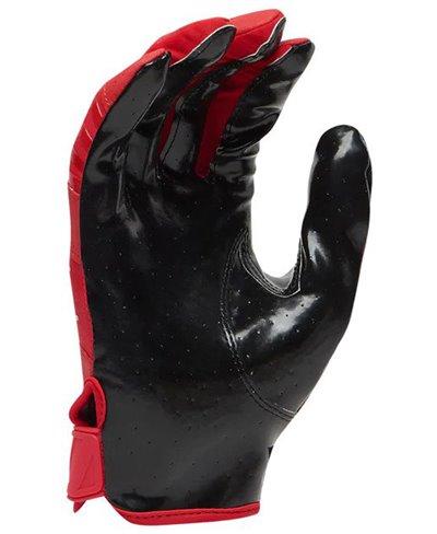 Rev Pro 3.0 Solid Flip Combo Pack Men's Football Gloves Red/Black pack of 2