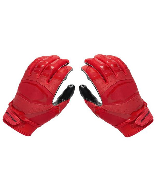 Rev Pro 3.0 Solid Flip Combo Pack Guanti Football Americano Uomo Red/Black 2 pz