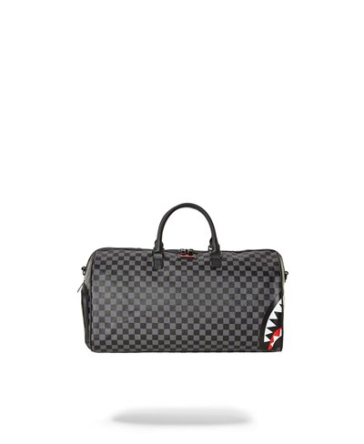 Grey Sharks In Paris Duffle Bag