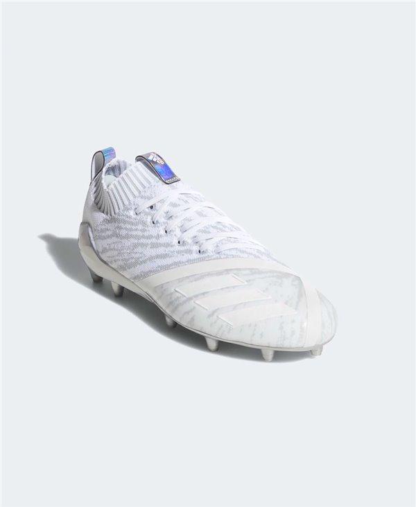 Adizero 5-Star 7.0 x Primeknit Scarpe da Football Americano Uomo Cloud White