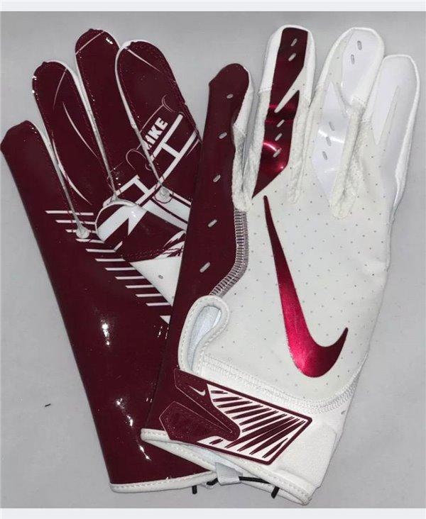 Vapor Jet 5 Herren American Football Handschuhe White/Team Red