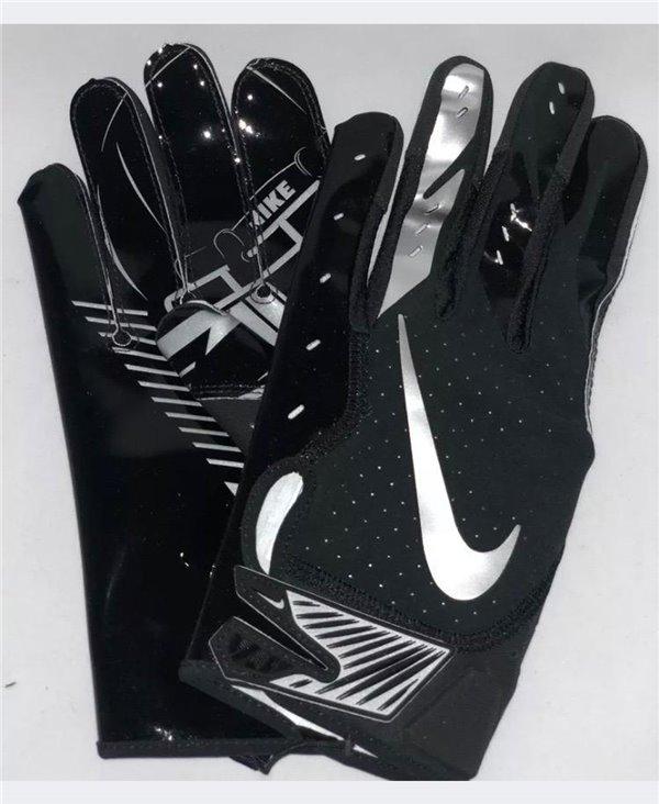 Vapor Jet 5 Men's Football Gloves Black/Metallic Silver