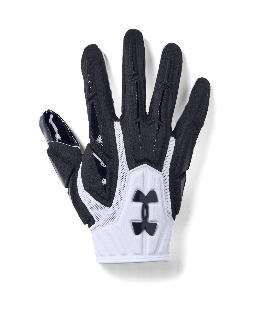 Highlight Herren American Football Handschuhe White
