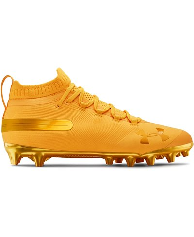 Spotlight Suede MC Zapatos de Fútbol Americano para Hombre Steeltown Gold